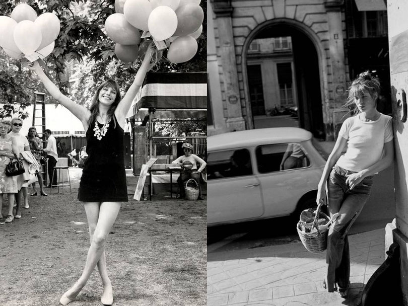 Jane Birkin und ihre Looks