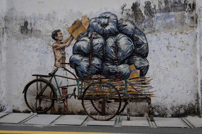 Straßenkunst von Ernest Zacharevic