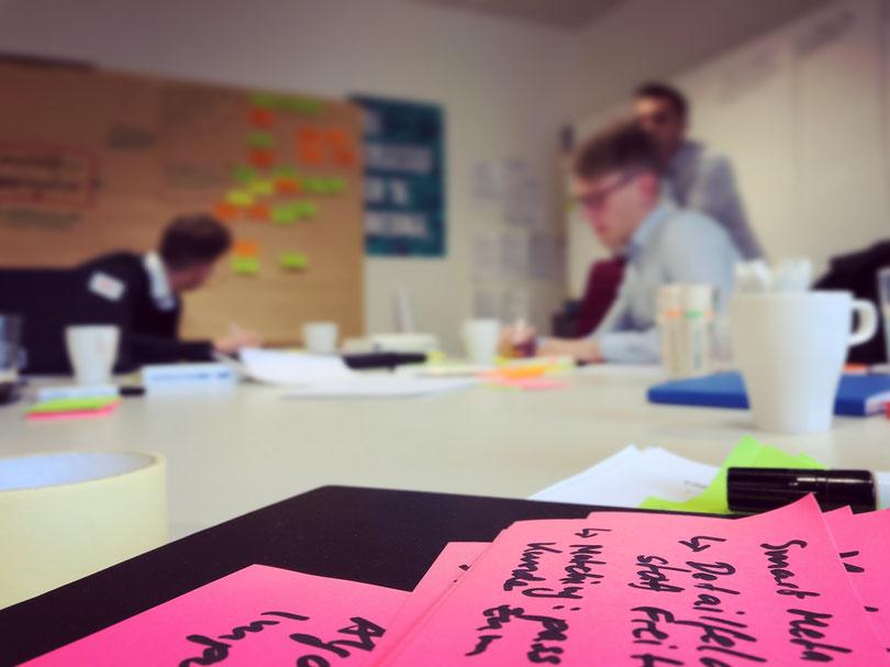 Unterschied & Macher | Sprint Week - Vorbereitung Workshop Woche