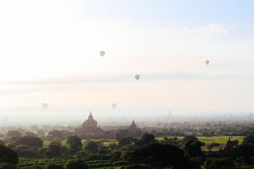 Myanmar Bagan - Orte schaffen geistiges Wohlbefinden - Photo by Chinh Le Duc on Unsplash