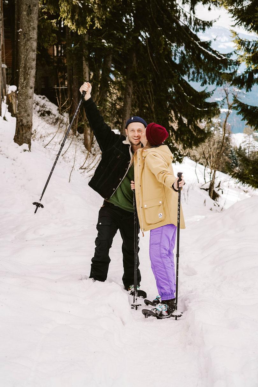 Schneeschuhwanderung Wintersport