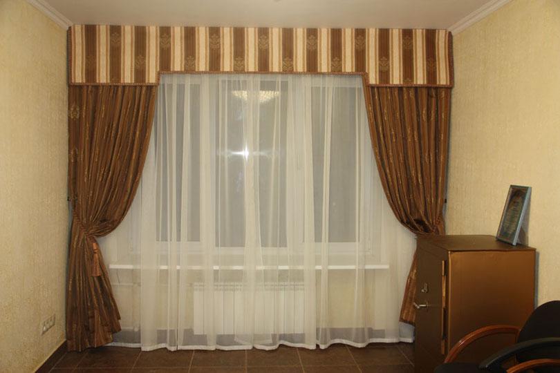 Шторы для кабинета. Заказ штор в Пушкино, Ивантеевке, Москве