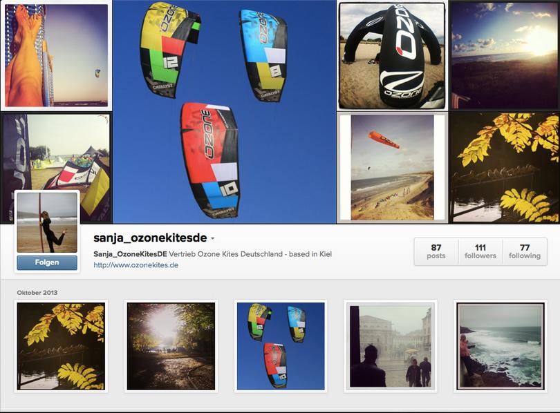 Ozone Kites Deutschland auf Instagram http://instagram.com/Sanja_OzoneKitesDE