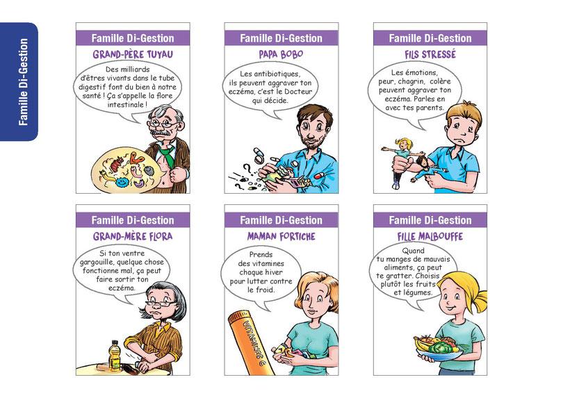 Jeu des 7 familles dans l eczema