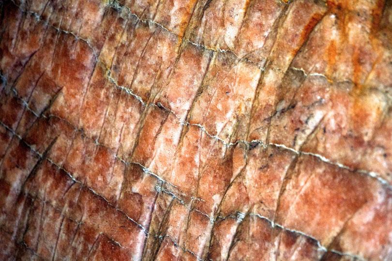 Schichtenstruktur des Orange-Salzes