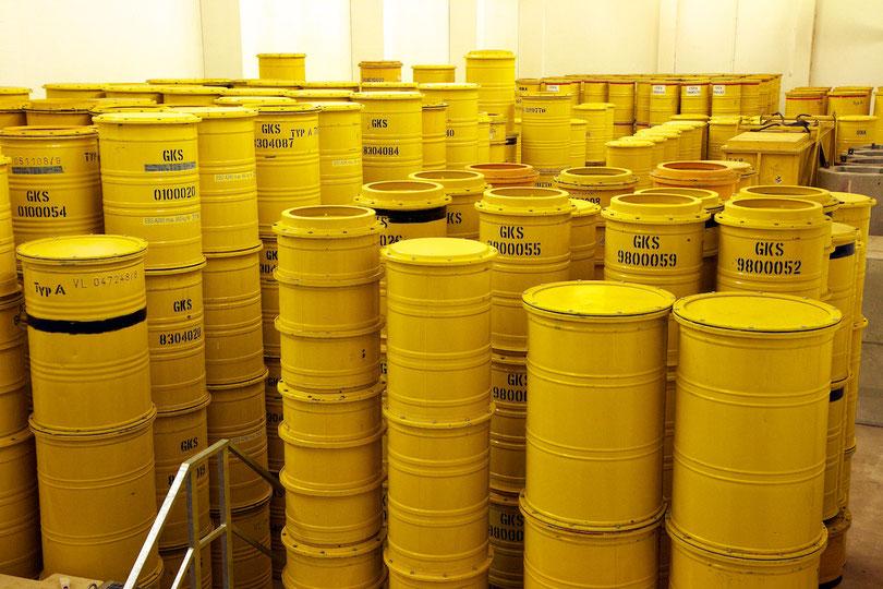 HZG-Lager für schwachradioaktive Abfälle