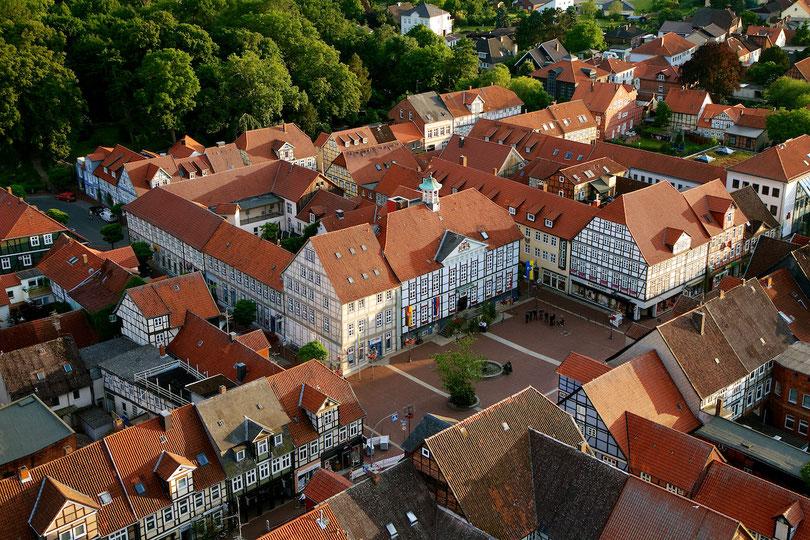 Lüchow: Marktplatz