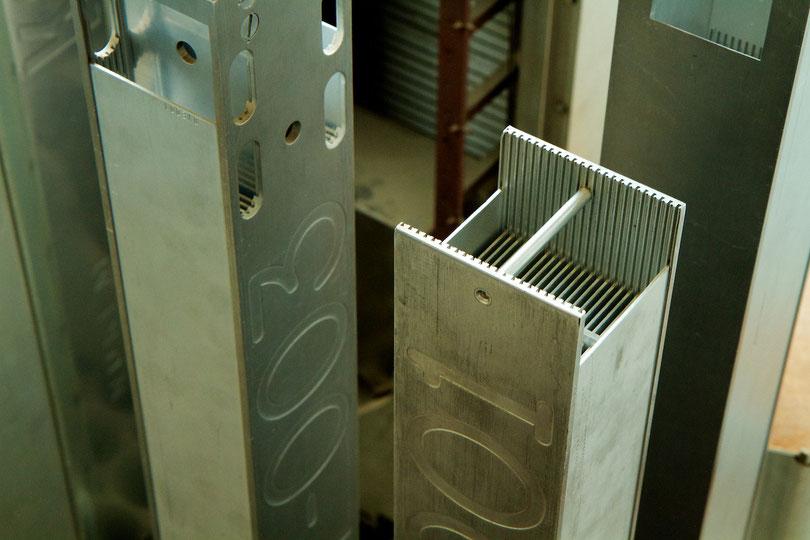 MTR-Brennlemente mit jeweils 410 Gramm Uran-235