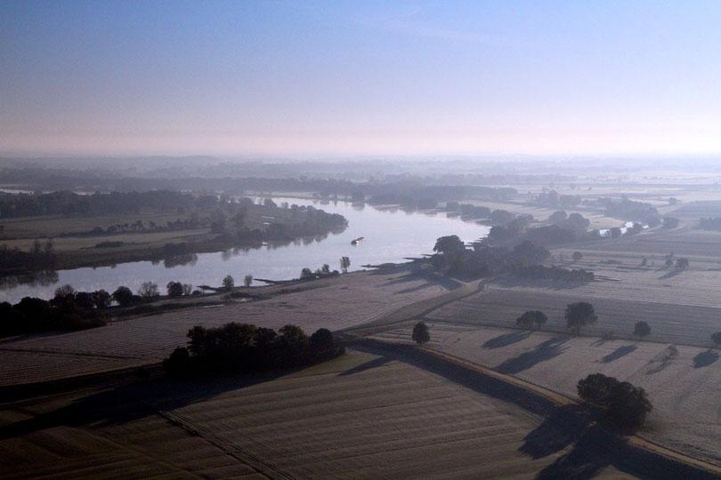 Elbe bei Wussegel