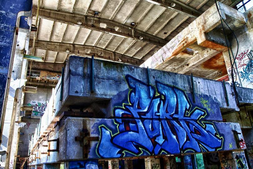Ein Paradies für Graffiti-Sprayer