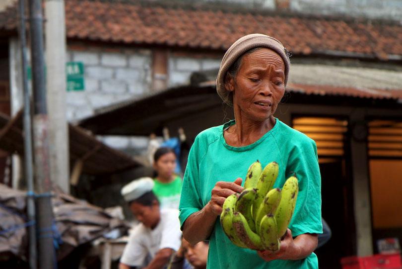Auf dem Morgenmarkt in Ubud