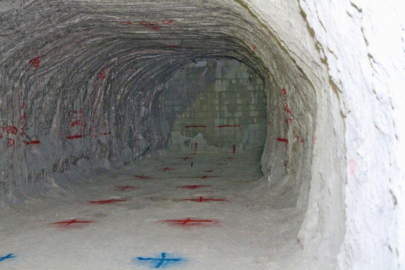 Asse: Noch ist der Verschluss von Kammer 7 unversehrt