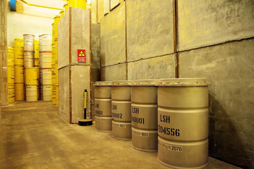 Landessammelstelle für radioaktive Abfälle