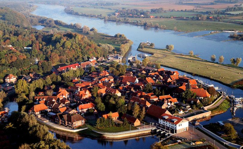 Hitzacker: Altstadtinsel