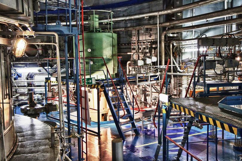 Pumpenringraum um den Reaktor