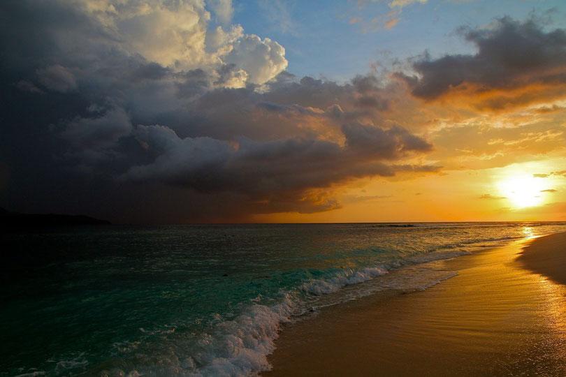 Am Strand von Gili Meno