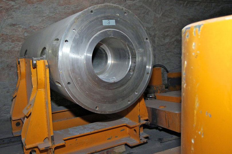 Asse: Abschirmender Transportbehälter für mittelaktive Atommüllfässer
