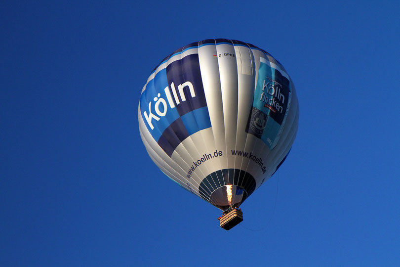 """Heißluftballon """"Flocke"""" von Balloon Adventure"""