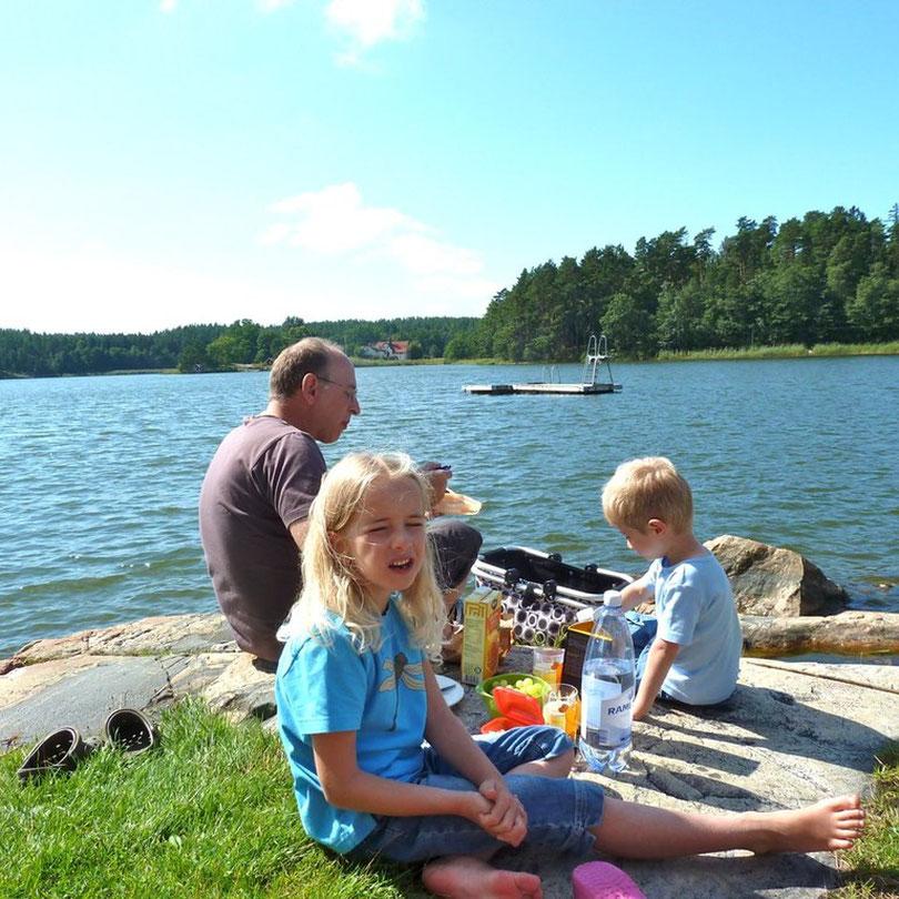 Badsplats bei Valdemarsvik