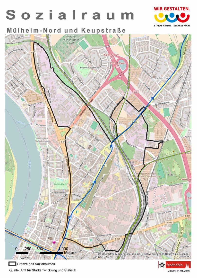 Fördergebiet Mülheim-Nord/Keupstraße