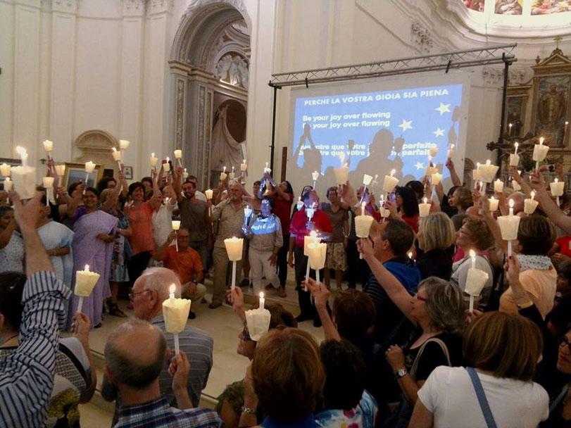 Memoria del fondatore del movimento Pro Sanctitate G. Giaquinta. Cattedrale di Noto (SR) 21 - 22 giugno 2014