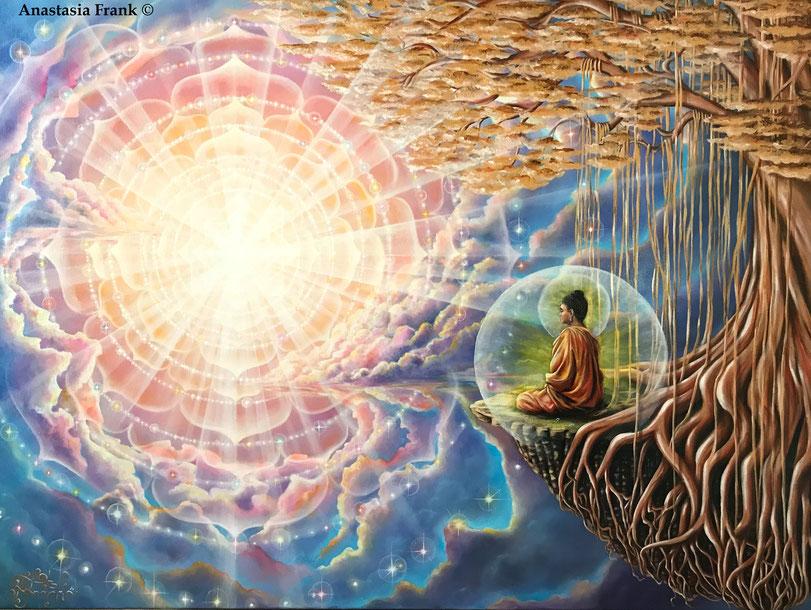Enlightenment/Buddha, Anastasia Frank