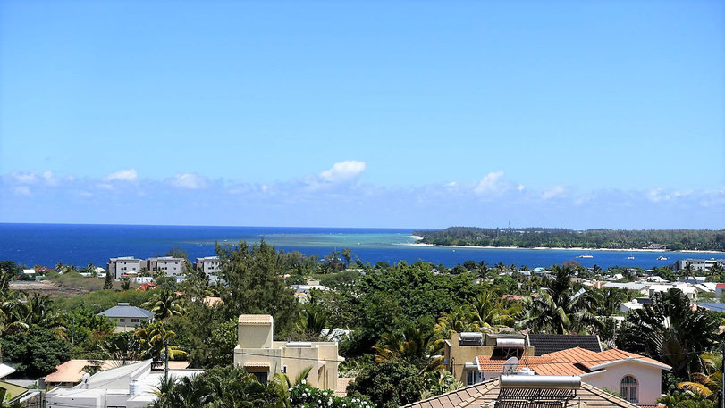 APPARTEMENT PENTHOUSE 3 CHAMBRES VUE MER TAMARIN ILE MAURICE