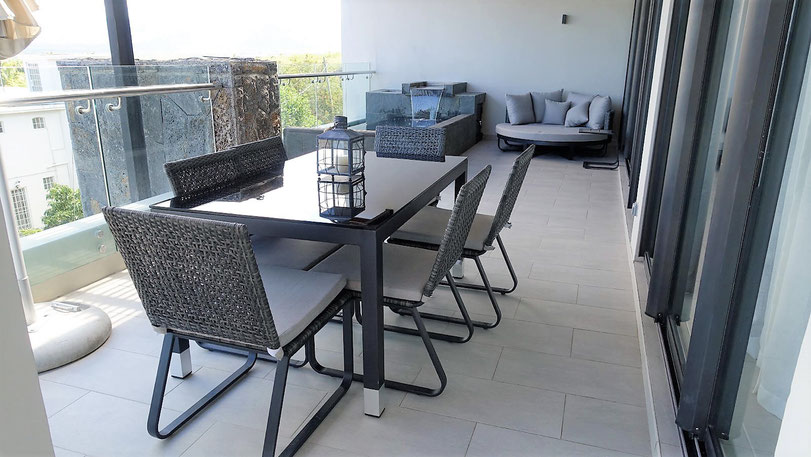 RES ILE MAURICE IMMOBILIER REVENTE PENTHOUSE APPARTEMENT 3 CHAMBRES VUE MER TAMARIN