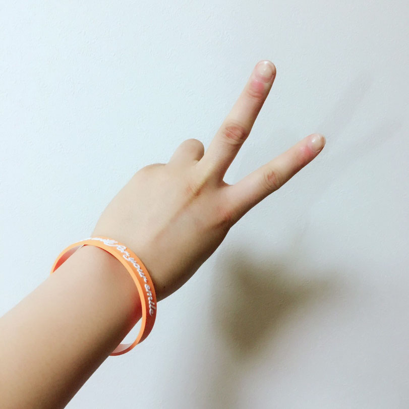 起立性調節障害(OD) オレンジブレスレット