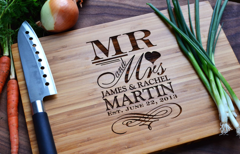 perfect personalized cutting board