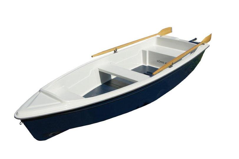 Höfner 400R. Ein stabiles und robustes Ruderboot Badeboot Fischerboot.