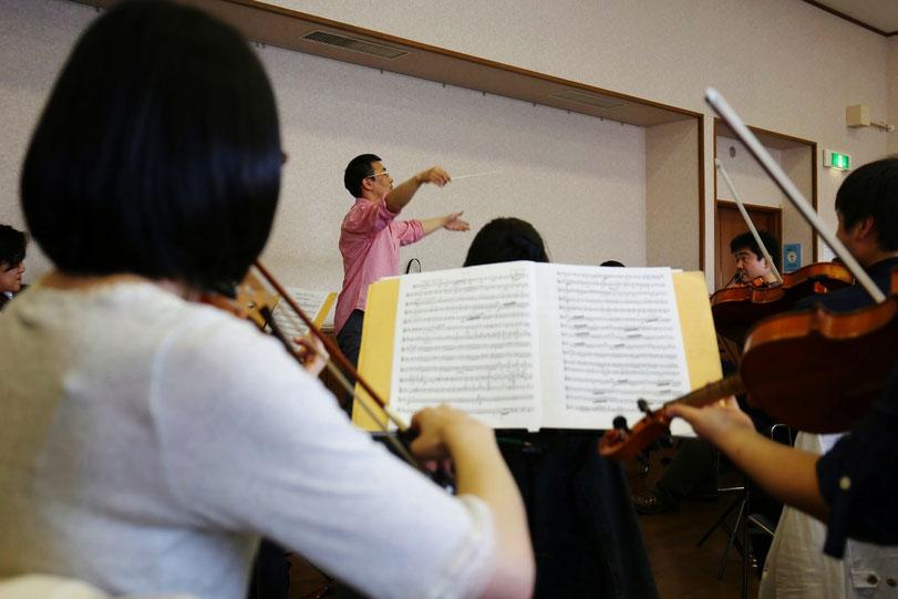 指揮ワークショップ・オーケストラセッション