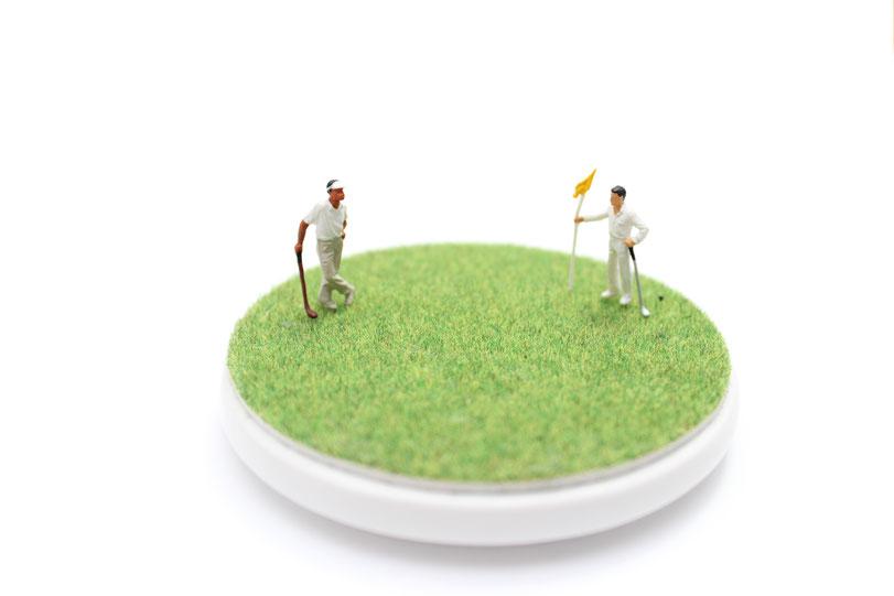 ゴルフフィギア画像