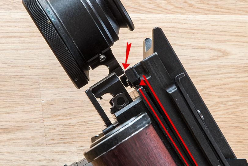 Erfahrungsbericht GAOERSI 4x5 Großformatkamera, Passungenauigkeit im Hochformat. Foto: bonnescape.de