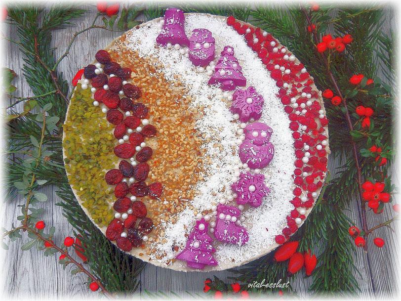 orientalische Weihnachtstorte