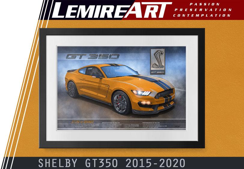 Shelby GT350 2016, Shelby GT 350 2017, Shelby GT350 2018
