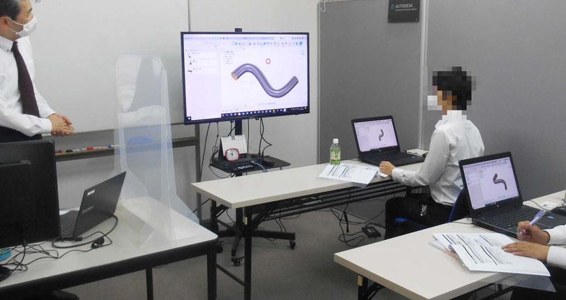CADCIL Fusion 360 製造業向け 個別講座 大阪府 ニテコ図研 製造メーカー様
