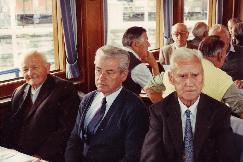 links Heinrich Streiff-Volz, rechts Hans Jenny-Bäbler