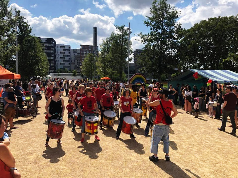 Fête des Docks - Juin 2018 - Saint-Ouen - Batucada Zé Samba