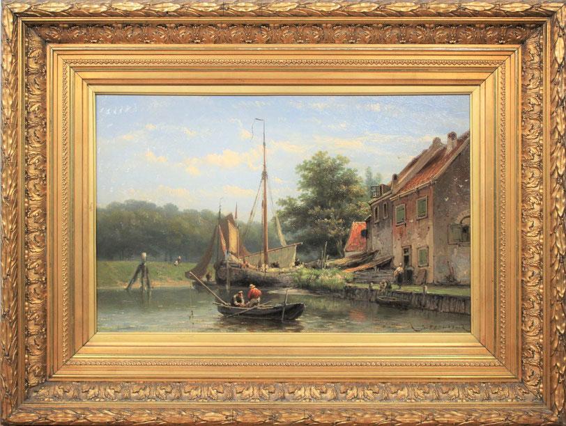 te_koop_aangeboden_een_marine_schilderij_van_de_kunstschilder_johannes_hermanus_barend_koekkoek_1840-1912