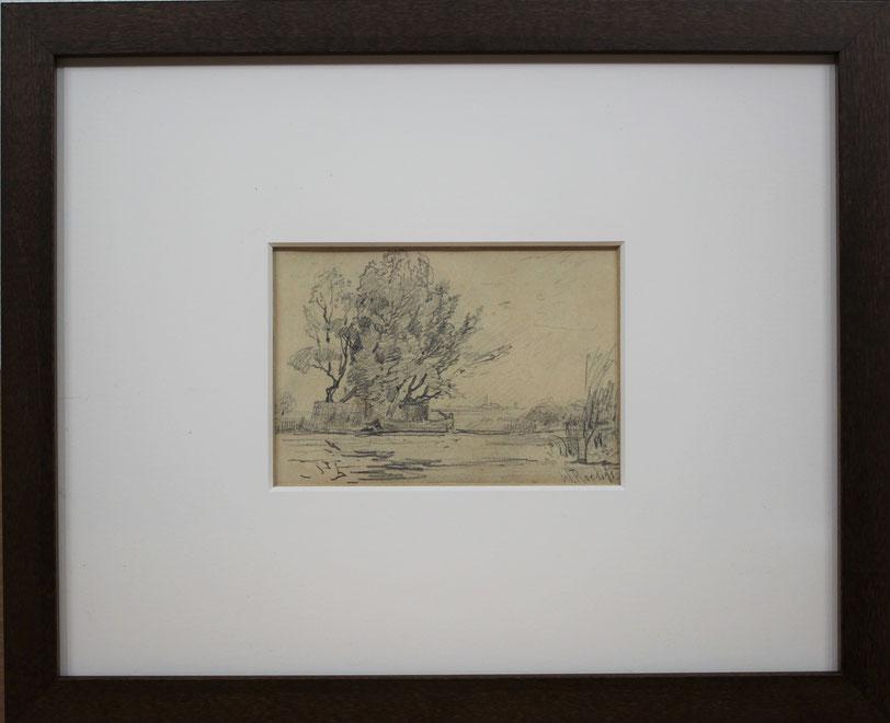 te_koop_aangeboden_een_studietekening_van_de_nederlandse_kunstenaar_willem_roelofs_1822-1897_haagse_school