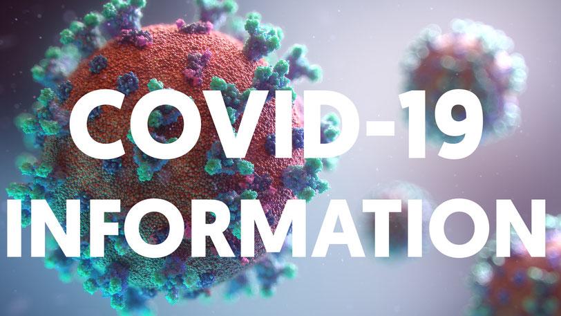 COVID-19 Informationen für unsere Gäste