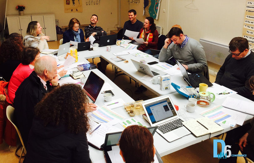 Réunion de coordination conférence D6