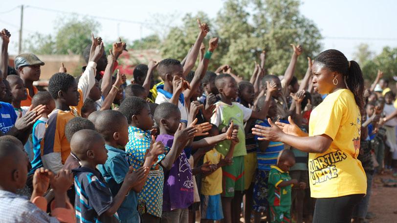 Programme Quartier Libre au Burkina Faso