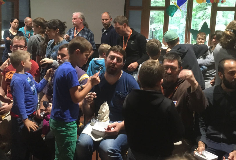 Apprentissage des Pré-ados - Camp Familles de Foi 2016