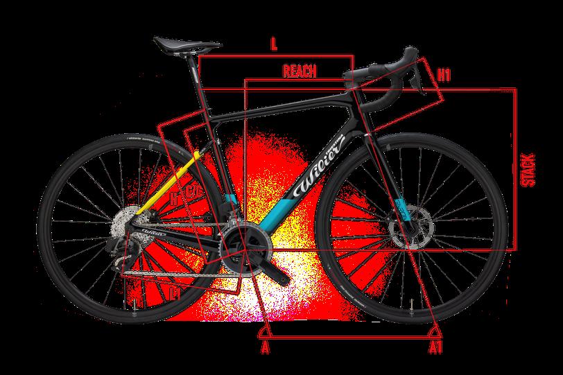 Wilier Cento10NDR geometrie Italian Cycle Experience