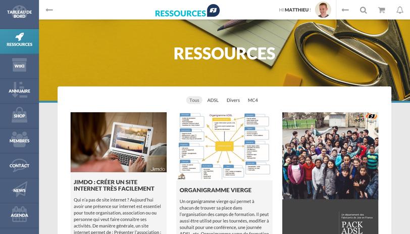 site ressources des Fabricants de Joie France