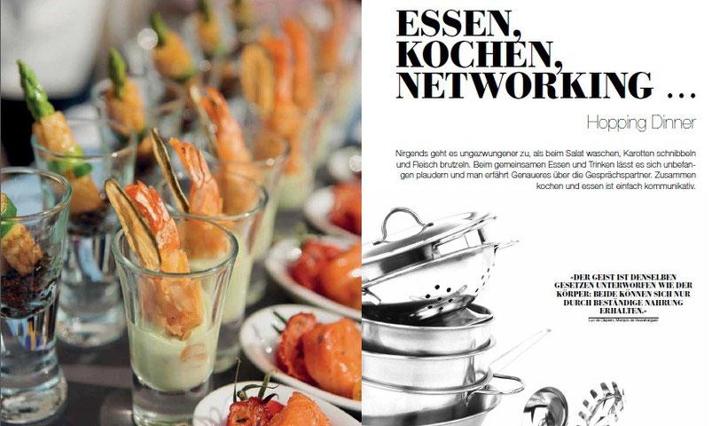 Kochen Essen Networking