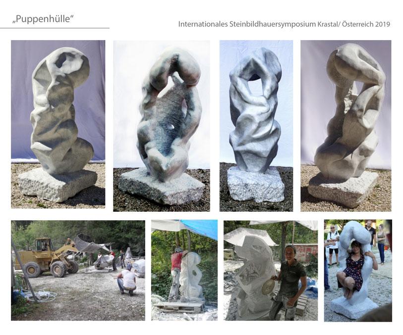 #Krastal #Krastalermarmor #marmor #Katharina Mörth #Contemporaryart #Sculpture #Skulptur #Stein #Design #Kunst #Gartendesign #Gardensculpture #2019