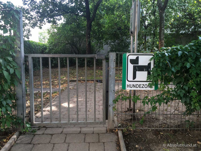 Hundezone, 1100 Wien, Martin Luther King Park - AbsolutHund.at